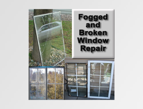 Fogged and Broken Window Repair
