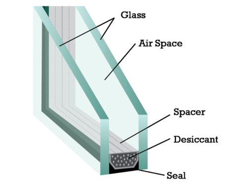Insulated Glass Illustration
