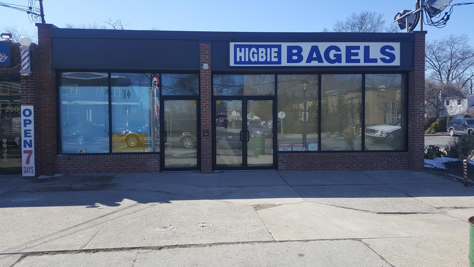 2016 10 commercial storefront glass doors - Higbie Bagels Door Installation